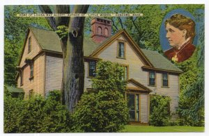 Concord, Mass, Home Of Louisa May Alcott, Author Of Little Women