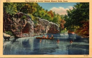 Texas Mineral Wells The Grottoes On Lovers' Retreat Curteich
