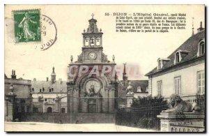 Old Postcard Dijon L'Hopital General