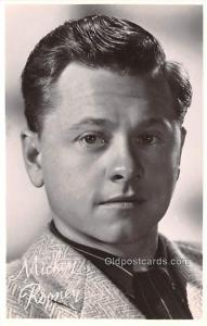 Mickey Rooney Movie Star Actor Actress Film Star Postcard, Old Vintage Antiqu...