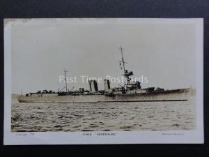 Military Vessel: H.M.S. ADVENTURE RP Postcard