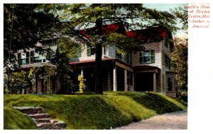 Massachusetts  Newton Centre , Smith's House, Author of America