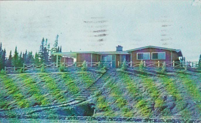 Canada Newfoundland Administration Building Newfoundland National Park At Bon...