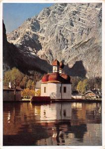 St. Bartholomae am Koenigssee mit Watzmann Ostwand, Basilika, Basilica Lake