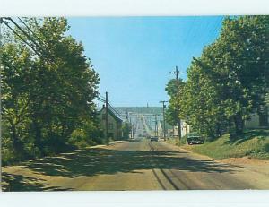 Unused Pre-1980 TOWN VIEW SCENE Bathhurst New Brunswick NB p8592