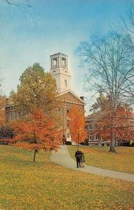 Marietta College OH Erwin Hall in the Fall, Y'all 1970s