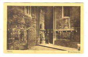 Prag Czech Republic , 1900-10s ; Wenzelskapelle