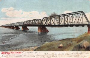 Victoria Bridge, Montreal, Canada,  Early Postcard, Used on 1907