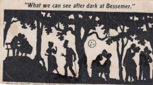 Silhouette ; What we can see after dark at Bessemer , 1901-07