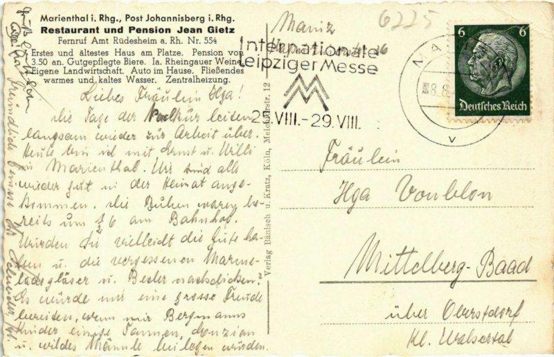 CPA AK Marienthal im Rheingau - View GERMANY (910083)