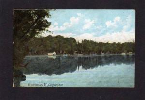 Vermont VT GREENSBORO Caspian Lake Postcard PC