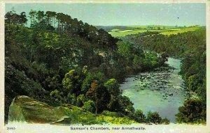 Samson's Chamber near Armathwaite River Forest Postcard