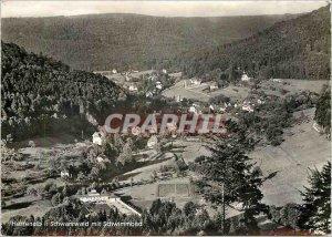 Postcard Modern Herrenalb Schwarzwald mit Schwimmbad