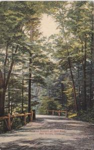 Connecticut  New Haven Road To Summit Of East Rock 1909