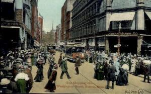 Washington St. Boston MA unused