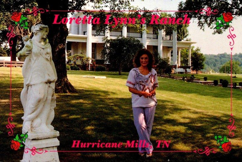 Tennessee Hurricane Mills Loretta Lynn At Loretta Lynn's Ranch