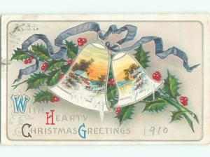 Divided-Back CHRISTMAS SCENE Great Postcard W8660