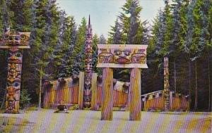 Canada Haida Indian Village Vancouver British Columbia
