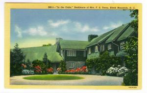 'In the Oaks' Residence of Mrs FS Terry Black Mountain, NC