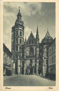 Slovakia Antique Post card  Kosice Cathedral image