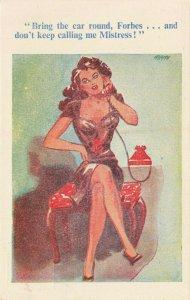 Comic Postcard Garland, Rudolf & Co. W106, Seaside Joke, Humour KL0