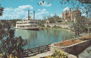 Florida Walt Disney World Cruising The Rivers Of America