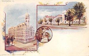 City Hall  Washington DC, USA Postcard Unused