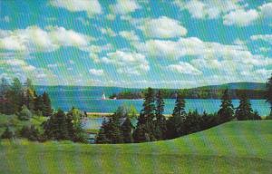 Canada Nova Scotia Cape Breton Baddeck Harbour