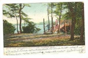 Bridge Over Town Brook Morton Park,Plymouth,Massachusetts,pre-1907