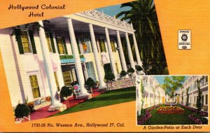 California Hollywood The Hollywood Colonial Hotel