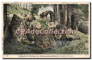 Postcard Old Valasse Cascade Du Chateau De Valasse nearly Bolbec