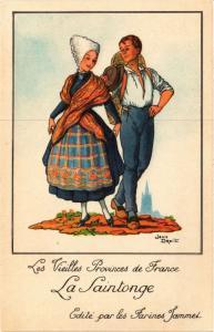 CPA La Saintonge Les Vieilles Provinces de France FRANCE FOLKLORE (788240)