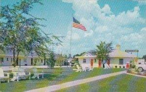North Carolina Pleasant Hill Warrens Motel & Restaurant 1962