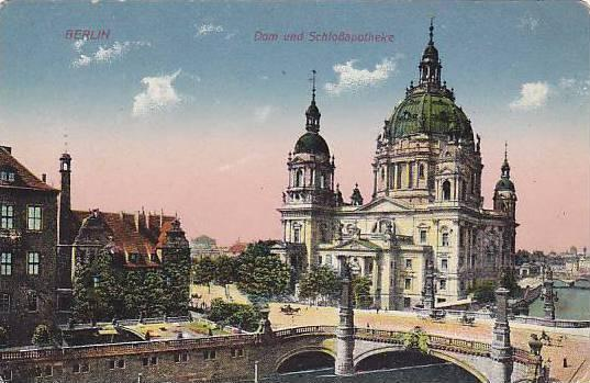 BERLIN, Dom und SchloBapotheke, Germany, 00-10s