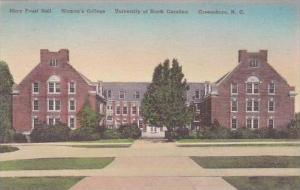 North Carolina Greensboro Mary Foust Hall Univ Of North Carolina Albertype