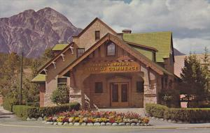 Front view,  Canadian Imperial Bank of Commerce,  Jasper,  Alberta,  Canada, ...