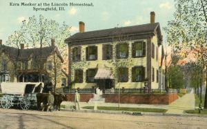 Ezra Meeker - Illinois, Springfield: Lincoln Homestead