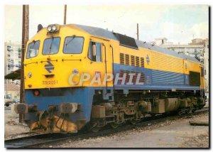 Postcard Modern diesel Locomotora 319-201-220