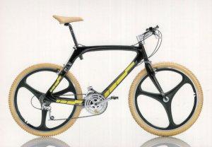 C-4 C4 Italian 1988 Italy Shimano XT Tyres Bicycle Bike Cycle Postcard