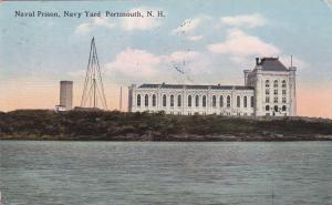 Naval Prison, Navy Yard, Portmouth, New Hampshire, 1914