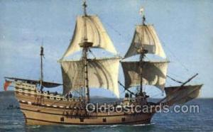 Mayflower II Sail Boats, Sailing, Ship Postcard Postcards  Mayflower II