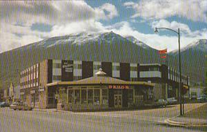 Canada Whistlers Motor Hotel & Drug Store Jasper National Park Alberta