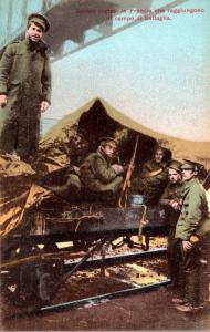 Military Italian Soldiers In Camp