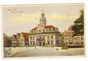 Partie Beim Rathaus, Schwäbisch Hall (Baden-Württemberg), Germany, 1900-10s