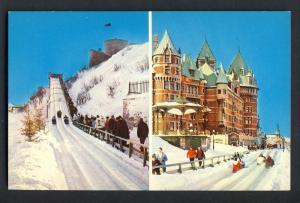 Quebec, Canada Postcard, Dufferin Terrace