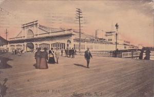 Youngs Pier Atlantic City New Jersey 1909