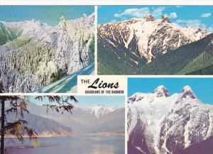 Canada Multi View The Lions North Shore Vancouver British Columbia