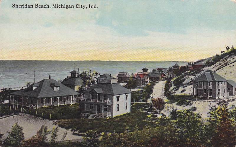 Michigan City Indiana 1900 1910 S Sheridan Beach