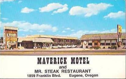 Maverick Motel Mr Steak Restaurant
