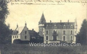 Le Chateau, Fa¡ade Nord Farges Allichamps, France, Carte, Writing on back